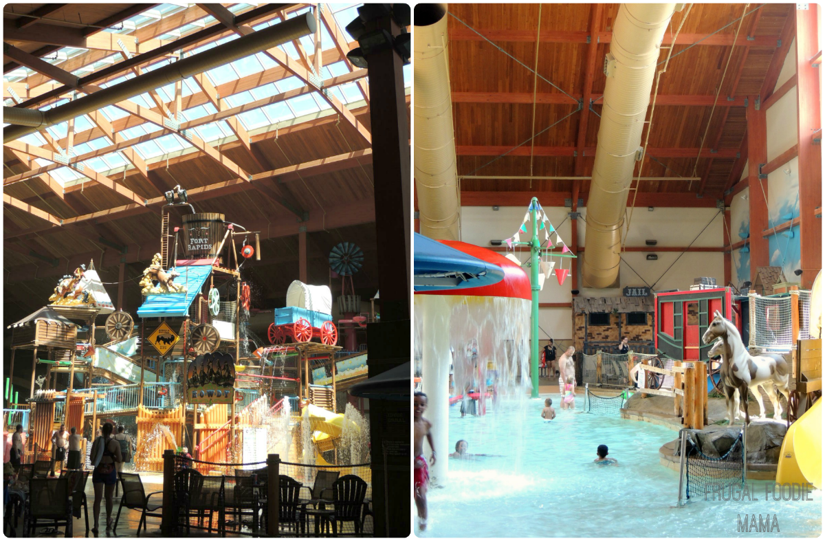 Family fun at Fort Rapids Water Park- Columbus, OH via thefrugalfoodiemama.com #familytravel