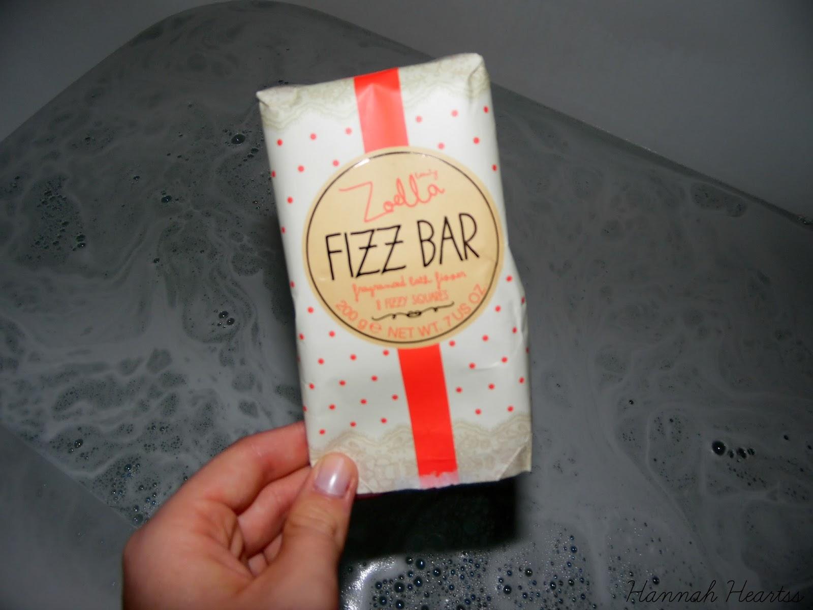 Zoella Fizz Bar