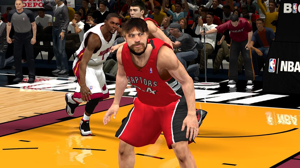 NBA 2K14 Aaron Gray Cyberface Patch