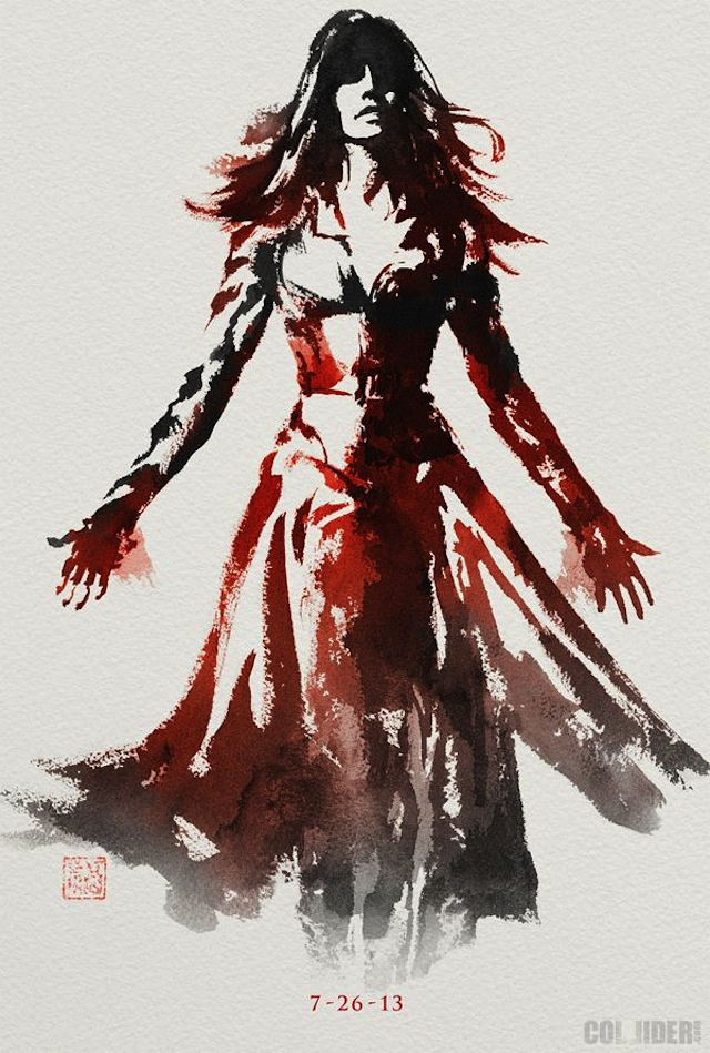 Jean Grey The Wolverine Character Poster