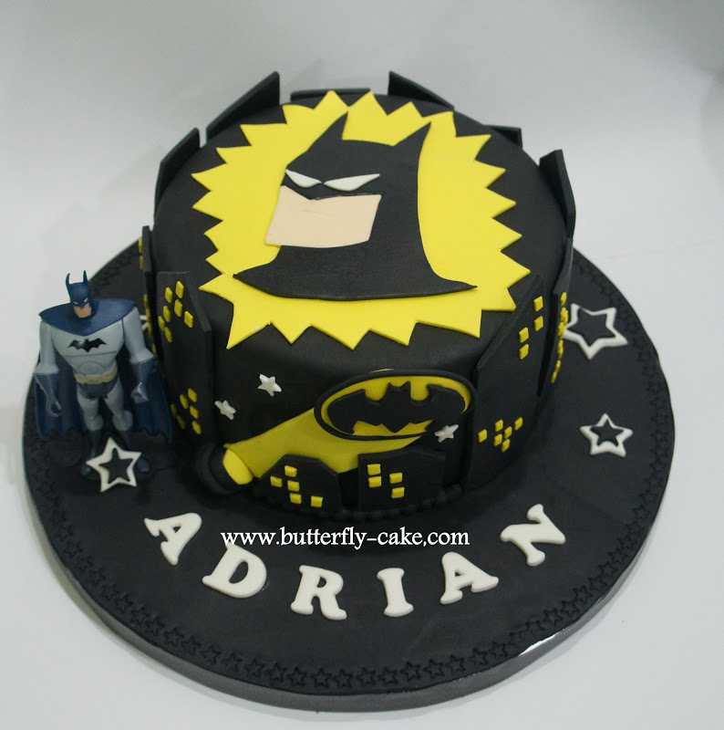 Butterfly Cake Batman Cake for Adrian