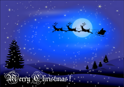 Happy Christmas Latest Wishing Cards 2012