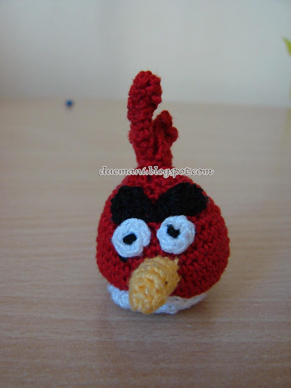 Handmade Cristina: Amigurumi Angry Birds