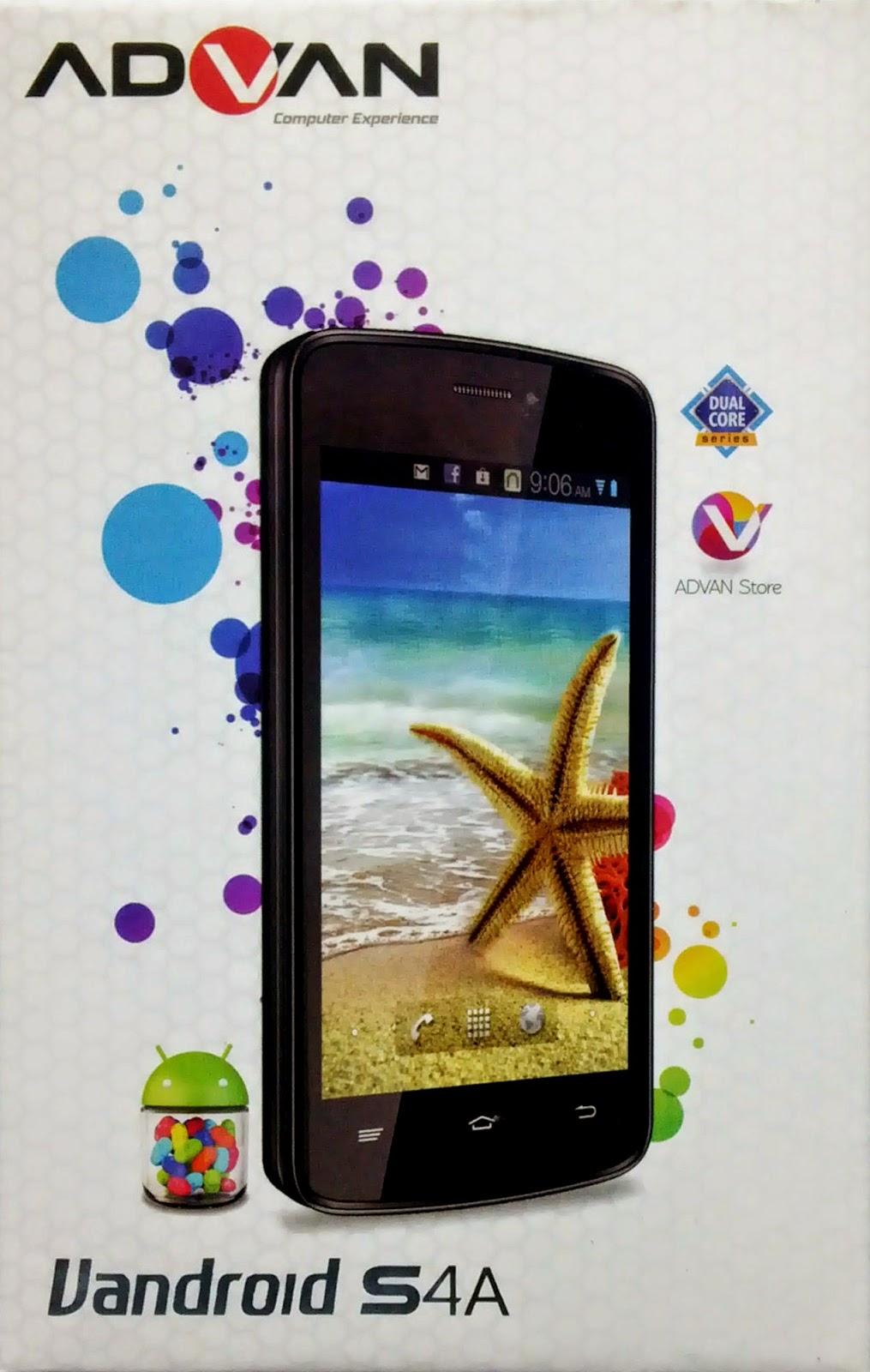 S4A adalah smartphone berfitur Dual GSM (Support 3G Internet) dan