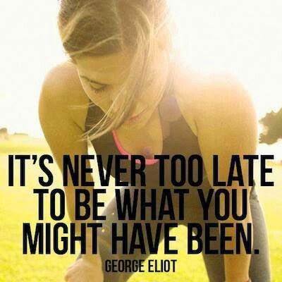let go of your past, be brave, move forward, positive motivation, motivational quotes, fitness motivation, its never too late