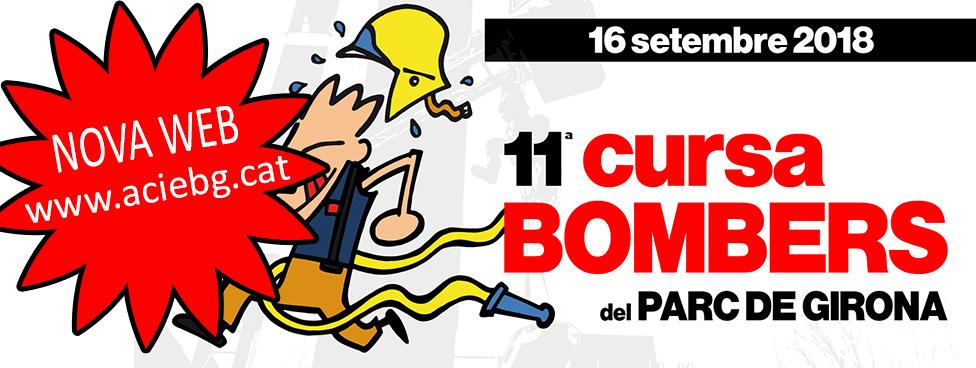 Cursa de Bombers del parc de Girona