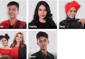 Lagu yang di nyayikan x factor indonesia 14 Agustus 2015 dan daftar lagu yang di bawakan