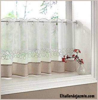 Informe las cortinas for Modelos de cortinas para puerta de cocina
