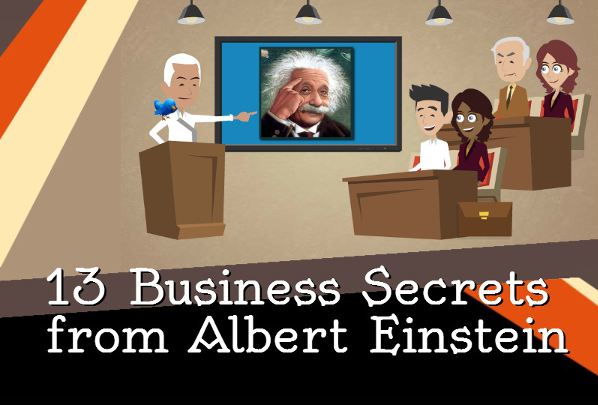 image : Business Secrets From Albert Einstein