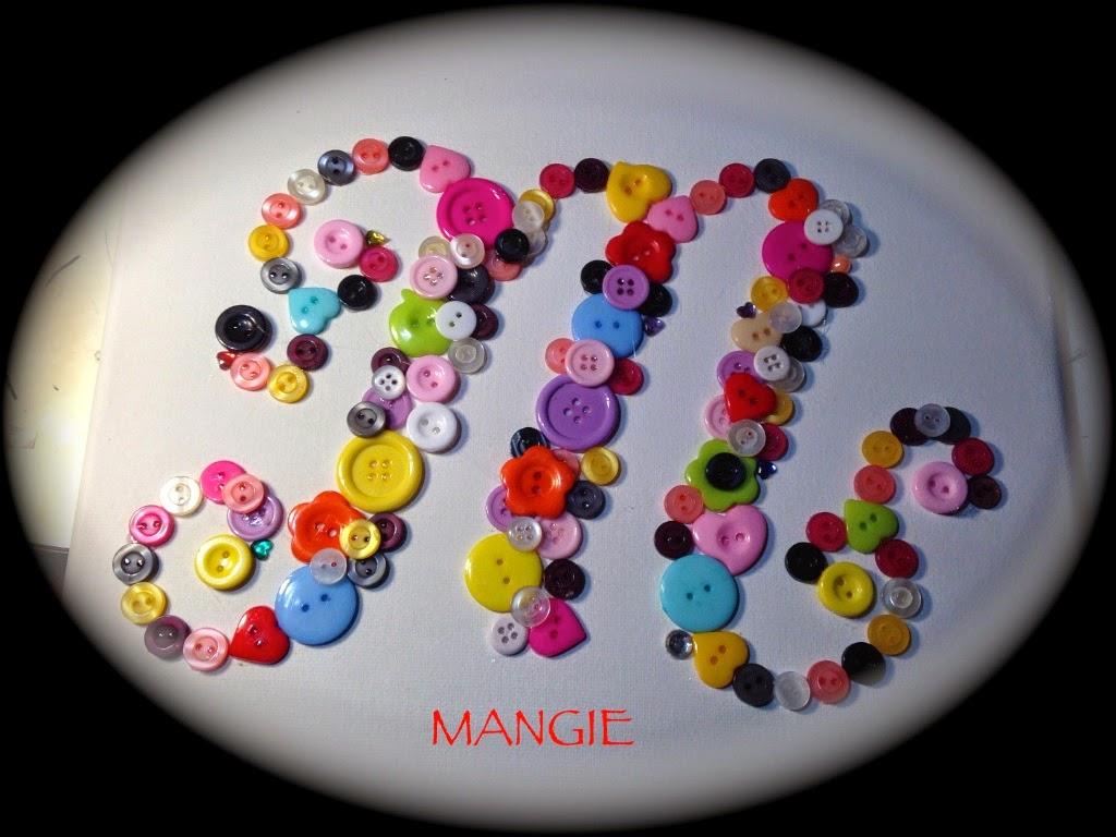Cuadro botones letra M