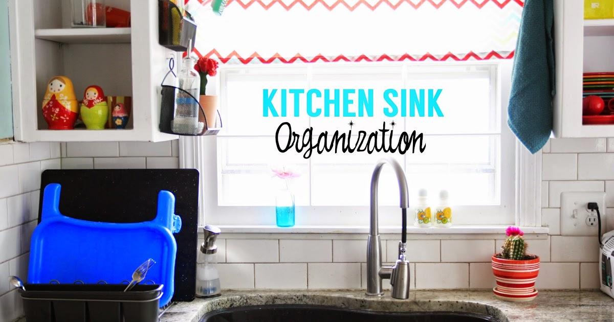 Kitchen Sink Organization