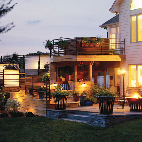 Outdoor Lighting Ideas For House: Lighting Ideas For Outdoor Rooms