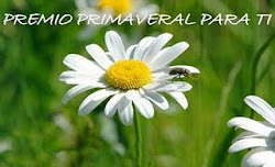 PREMIO PRIMAVERAL PARA TI