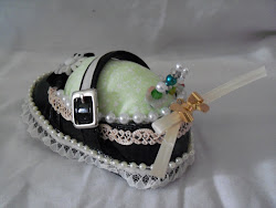 Little Girls Shoe Pin Cushion