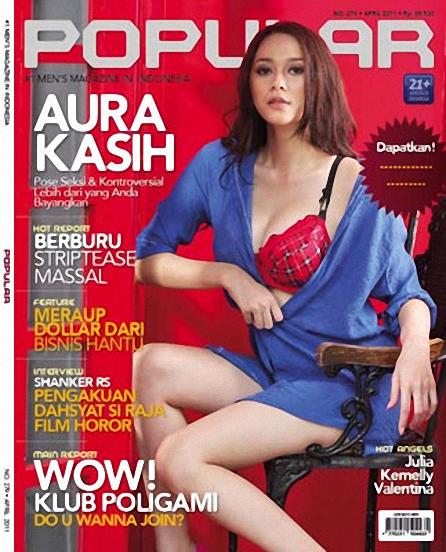 aura kasih terbaru dah berikut ini adalah foto aura kasih di majalah