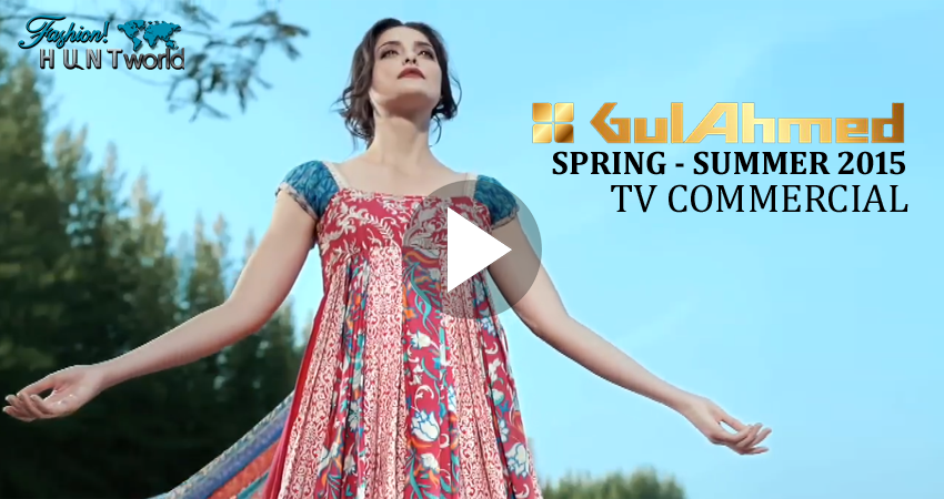 Gul Ahmed New Spring-Summer 2015 Collection