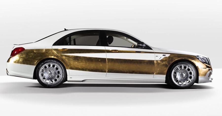 お金持ちをアピールしたい人専用車?カールソンのSクラス「ベルサイユ・エディション」
