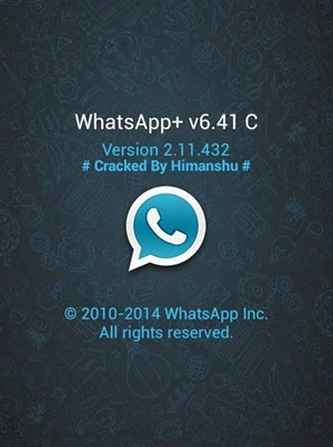 تحميل واتس اب بلس 6.41 عبر ميديا فاير whatsapp+ 6.41