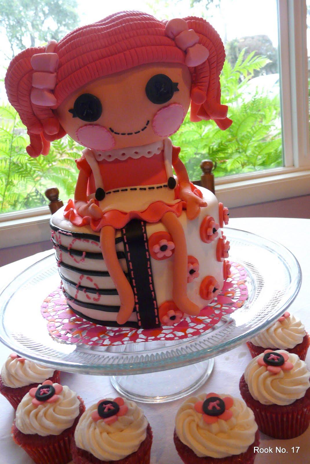 Lalaloopsy Fondant Cake Pinterest