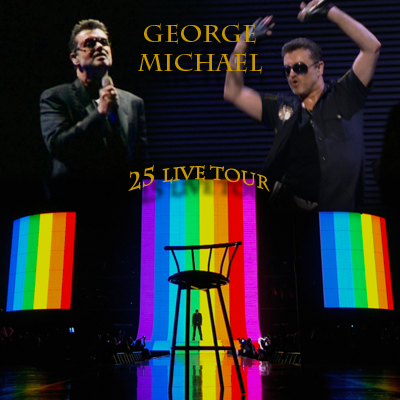 george michael 25 live dvd:
