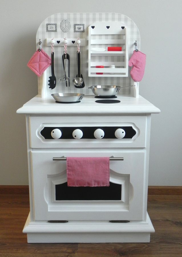 Magazyn Towarów Niemasowych Drewniana kuchnia dziecięca DIY -> Kuchnia Drewniana Dla Dzieci Diy