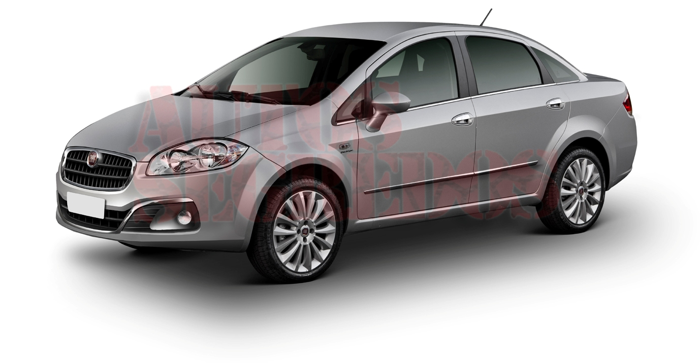 2013 Fiat Linea Facelift Spy Images