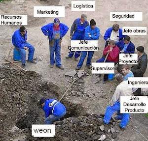 MUCHOS CACIQUES Y POCOS INDIOS.