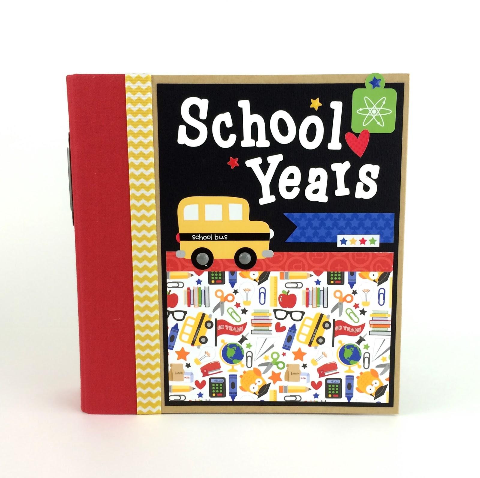 Artsy albums mini album and page layout kits and custom designed doodlebug back to school scrapbook album kit solutioingenieria Gallery