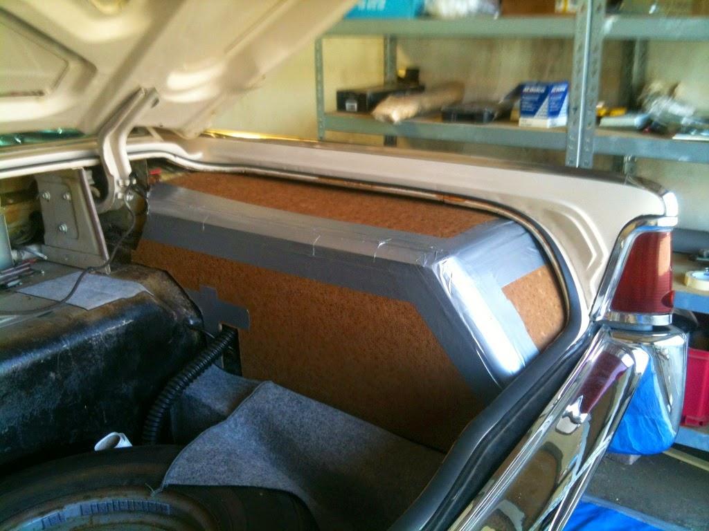 1964 lincoln continental trunk restoration part 2. Black Bedroom Furniture Sets. Home Design Ideas