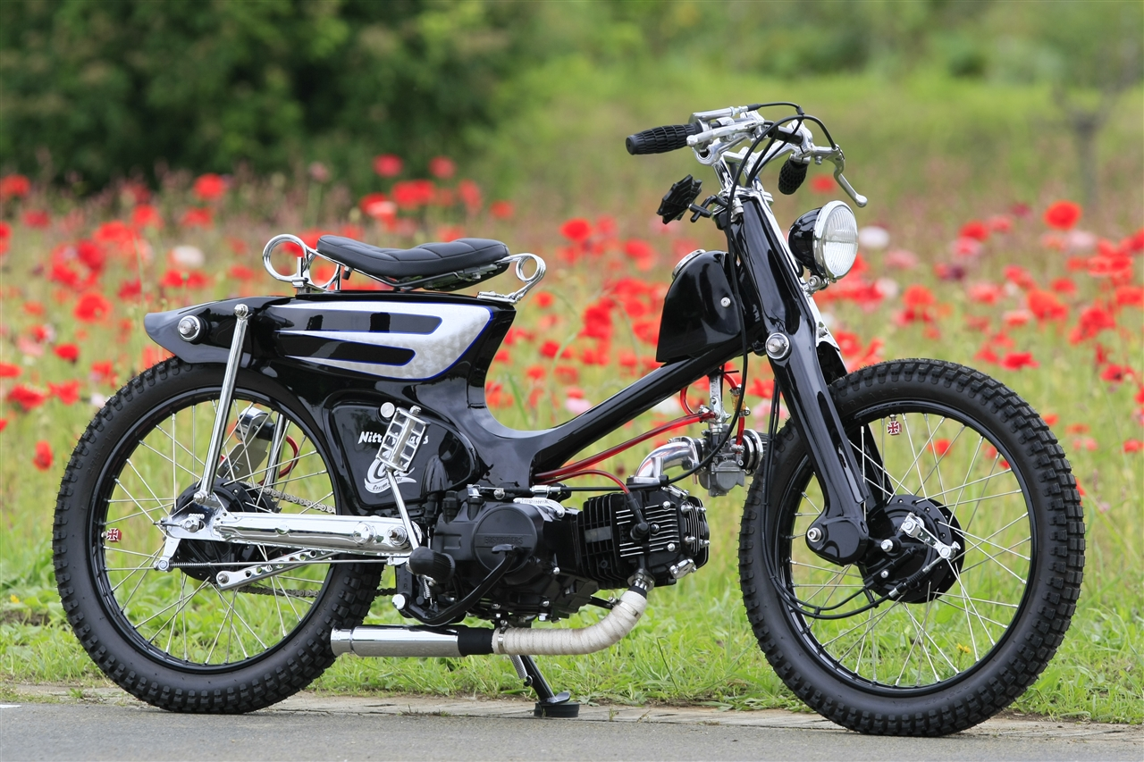 super cub custom takeyoshi images