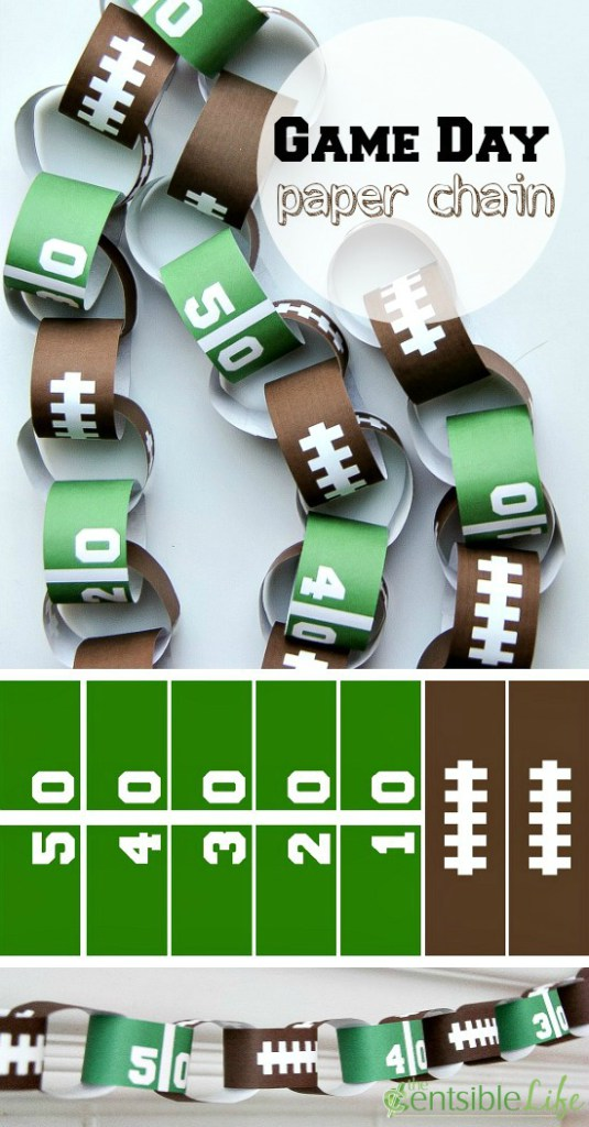 Favorite DIY Football Game Day Party Decorating And Recipe
