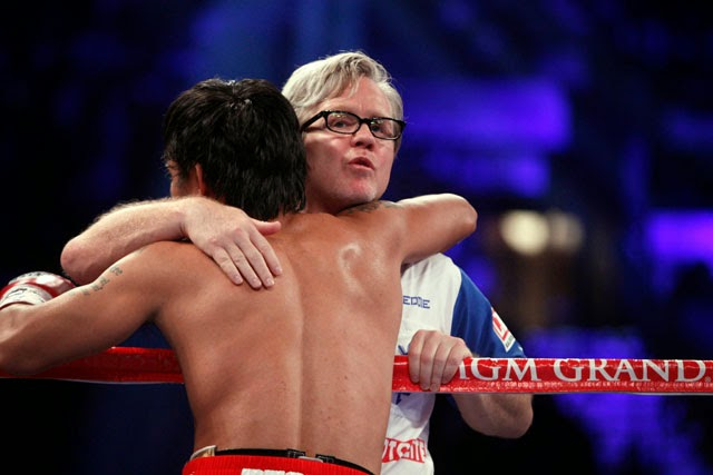 "Freddie Roach, named 'Trainer of the Year ""by Sports Illustrated"
