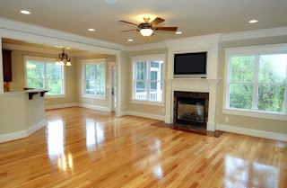 beautiful clean hardwood floors
