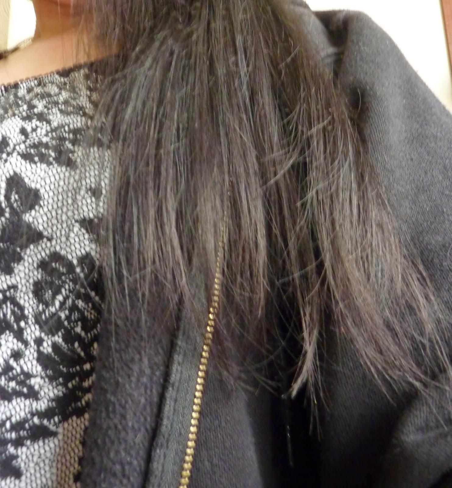 Alessaknox blog lifestyle belge comment se couper les cheveux soi m me en 60sec - Se couper les pointes soi meme ...