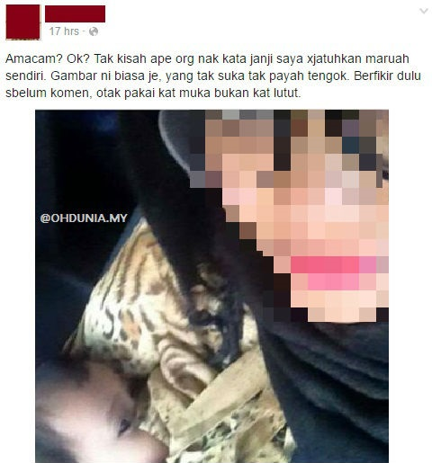Seorang pengguna laman sosial dengan bangganya berkongsi gambar menyusukan anak, mencetuskan viral dan kontroversi