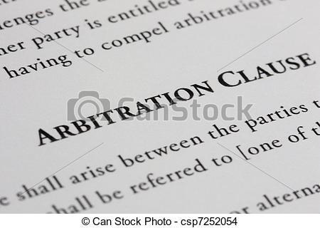 Arbitration Clauses in Contracts