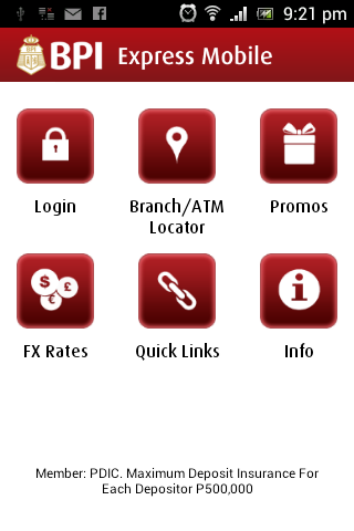 New BPI Express Mobile App for Android