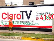 Publicidad de Claro Tv:
