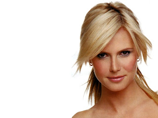 Celebrity Heidi Klum Hairstyle Wallpapers Gallery