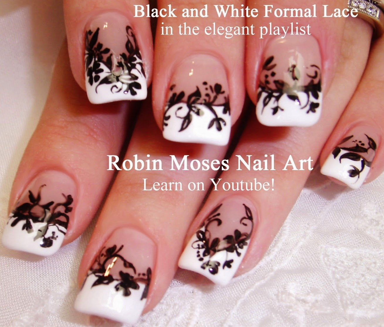 "Robin Moses Nail Art February 2015: Robin Moses Nail Art: ""lace Nails"" ""spring Nails 2015"