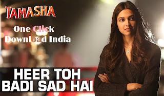 Heer Toh Badi Sad Hai Song Lyrics