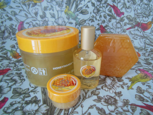 Body Shop honeymania collection