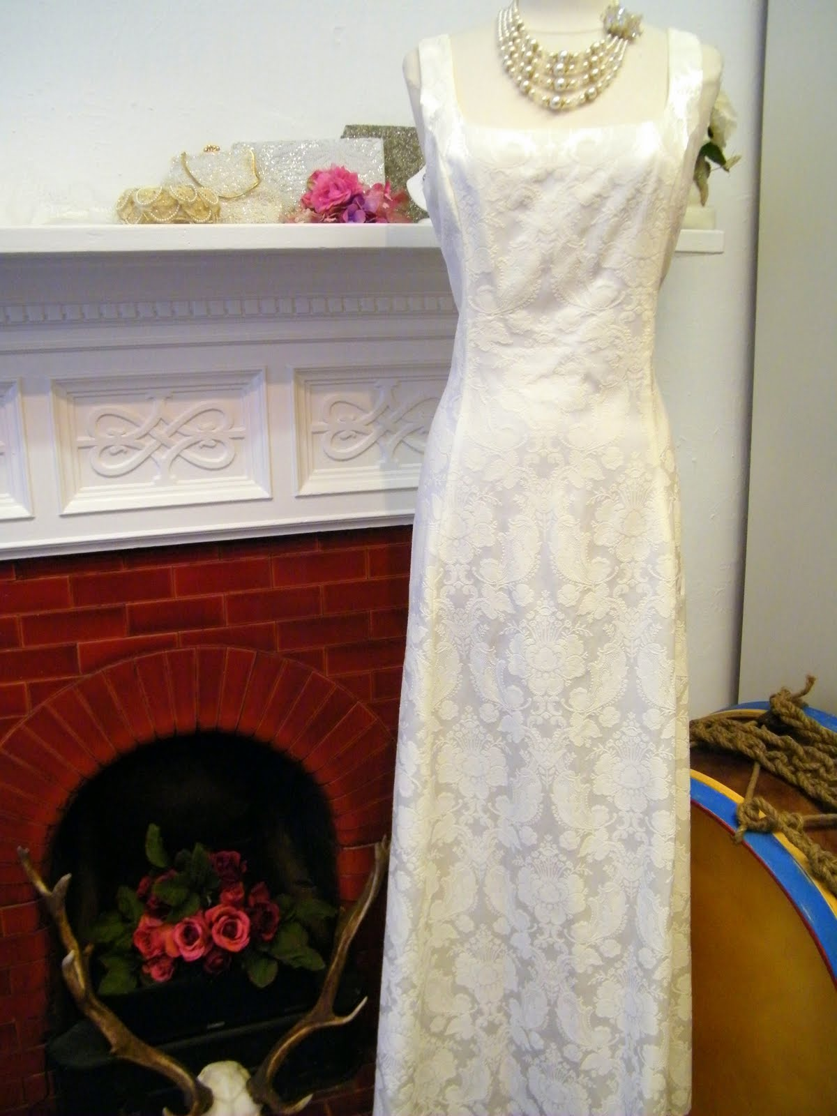 Sage Green Wedding Dress