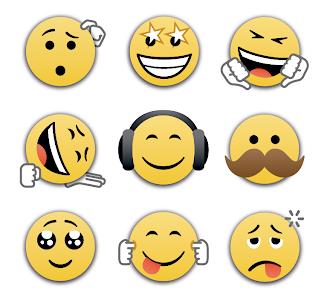 Emoticon Baru di BBM Android V2.0.0.13 Terbaru