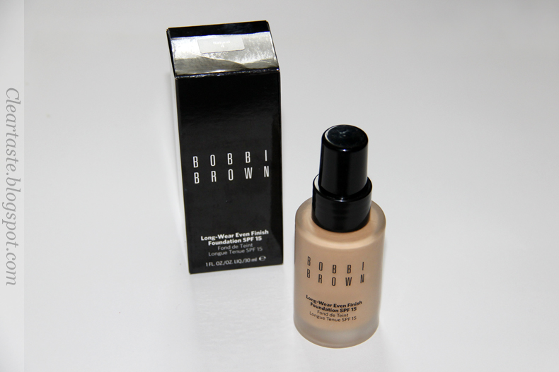 Bobbi Brown long-wear even finish foundation natural