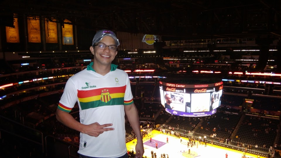 sampaio correa - staples center - lakers - los angeles