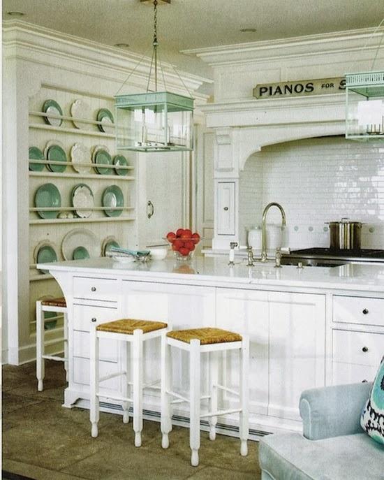High End White Kitchen