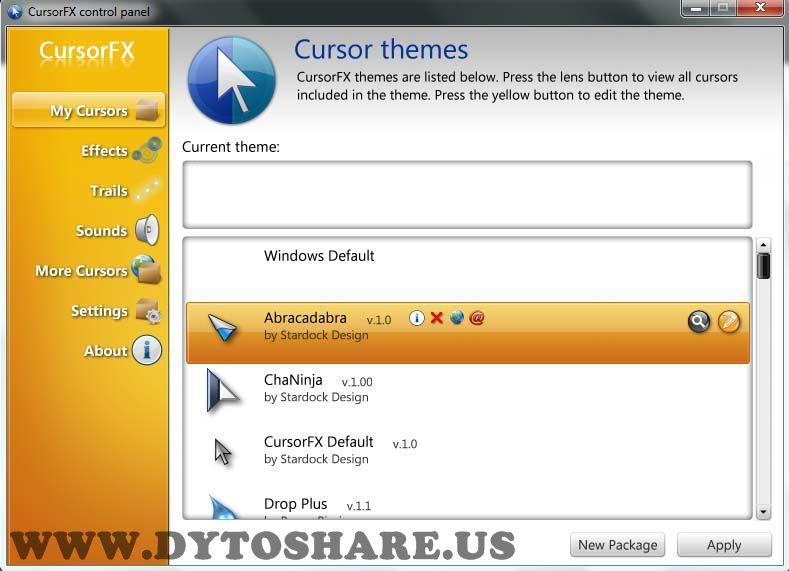 alvicom berbagi: Stardock CursorFX Plus 2.01 + Patch