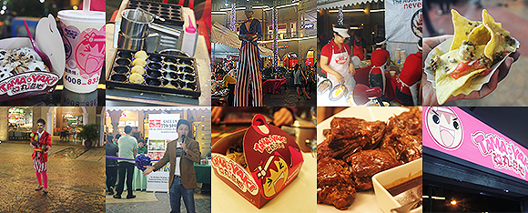 Foodie from the Metro Carnivale Food Market Venice Piazza Taguig