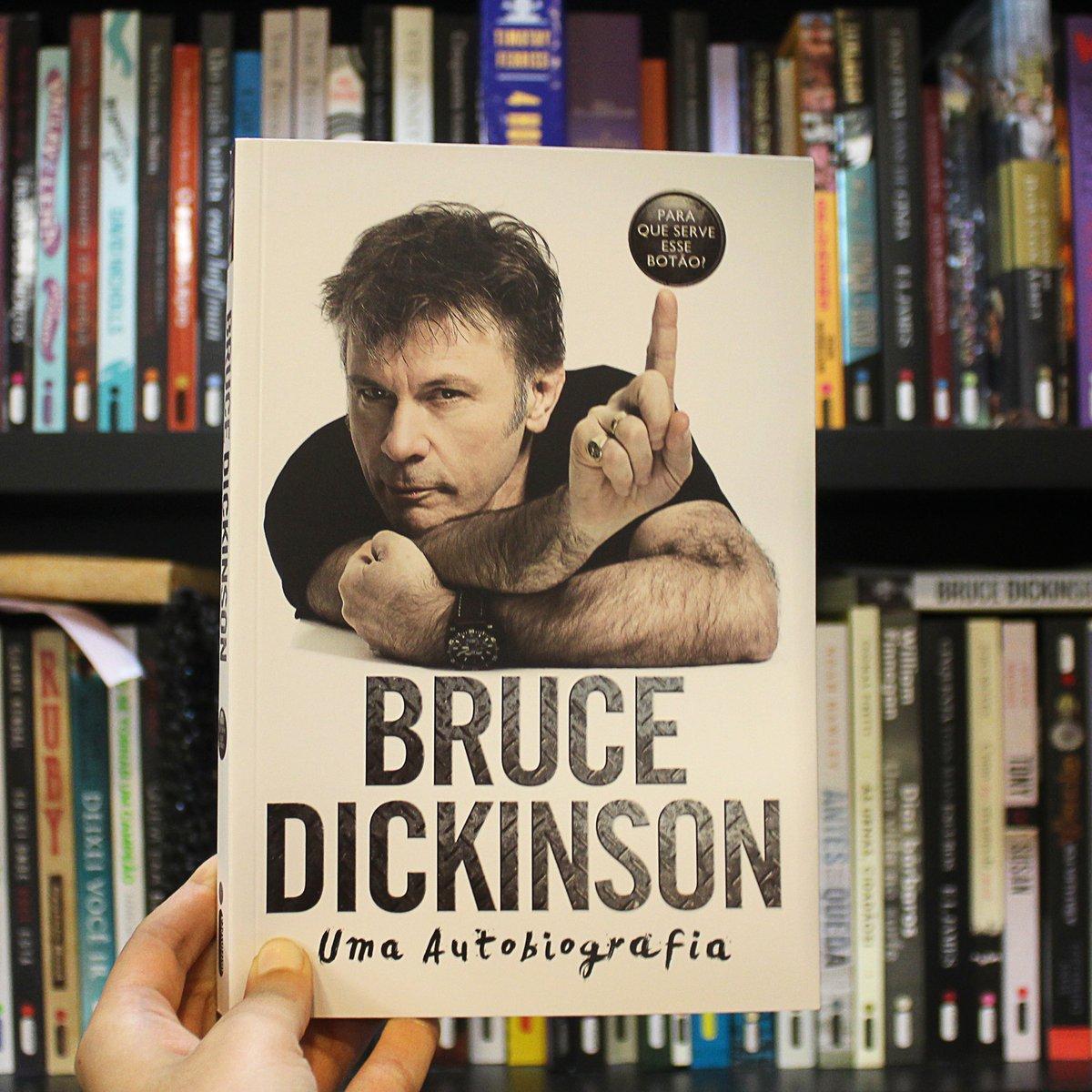 BIO DO BRUCE DICKINSON, SÓ R$ 29,90. CLIQUE NA IMAGEM E APROVEITE!